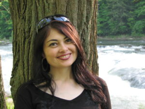 Heidi Ruby Miller, author of AMBASADORA and GREENSHIFT