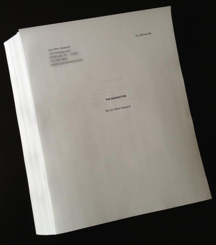 Bedwetter Manuscript, First Draft